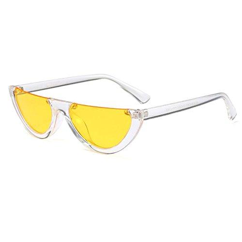 Huicai Eye Mod C9 Style classique soleil de pour Mod demi lunettes monture Cat femmes hommes pUFTWwqprx
