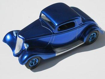 Alclad II Lacquers Paint Candy Cobalt Blue Enamel 1 oz #710