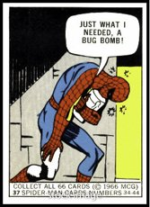1966-donruss-marvel-super-heroes-r818-10-non-sports-card-37-spider-man-just-what-i-needed-vgx-condit