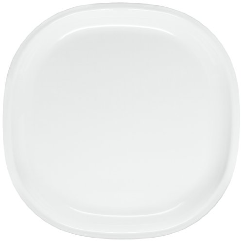 Signoraware Square Full Plate Set, Set of 6, White