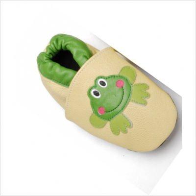 (Bibi & Mimi Infants' Frog Booties (12-18 months))