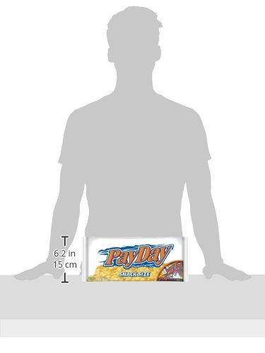 Amazon.com : PAYDAY Snack Size Peanut Caramel Bars (11.6-Ounce Bag ...