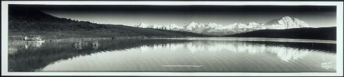 Photo Mt. McKinley and the Alaska Range, Mt. McKinley National Park, Alaska 1958