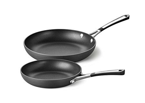 Calphalon Hard Anodized Aluminum Nonstick Cookware Omelette Pan, 8/10 inch, Black