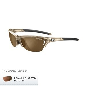 Tifosi Radius Polarized Fototec Sunglasses - Crystal Brown