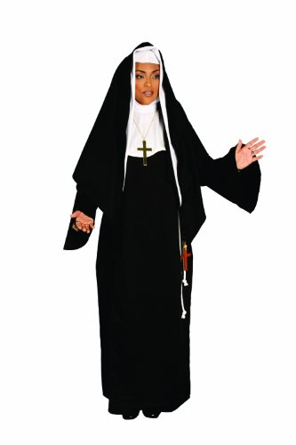 Alexanders Costumes Mother Superior, Black, One Size -