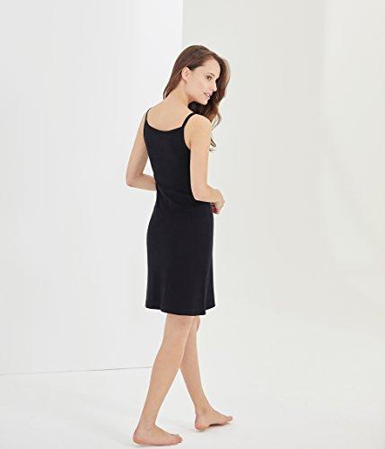 Femme Robe Bateau Noir noir Petit EO5xqUw5