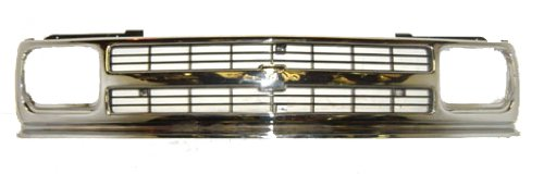 [OE Replacement Chevrolet S10 Pickup/S10 Blazer Grille Assembly (Partslink Number GM1200147)] (Chevrolet S10 Blazer Grille)