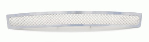 TRex Grilles 55205 Upper Class Small Mesh Stainless Polished Finish Bumper Grille Bolt-on for GMC Sierra 1500