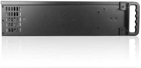Power Supply Not Included 149117 Black iStarUSA 3U Compact Stylish Rackmount Chassis with SEA Bezel