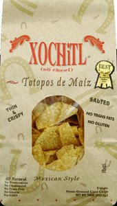 Xochitl Corn Chips Salted, 16-Ounce Bags (Pack of 9)