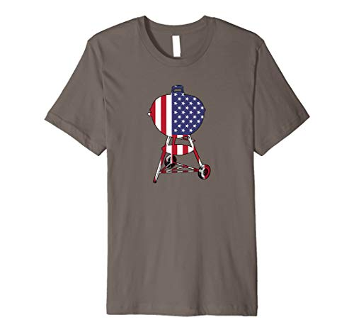 USA Charcoal Kettle Grill Shirt | July 4th Grill Gift