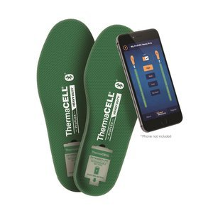 ThermaCELL Proflex Heavy Duty Heated Shoe Insoles with Bluetooth Compatibility, XL by Thermacell
