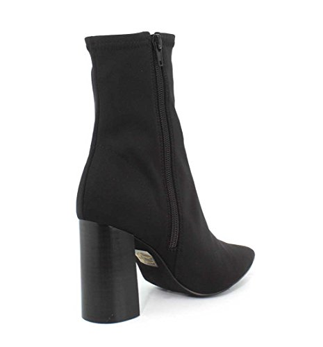 Jeffrey Campbell Womens Siren Block Heel Ankle Booties Black Neoprene L4P6iyGr5