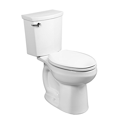 American Standard 288AA114.020 H2Optimum Siphonic Right Height Elongated Toilet, - Flush Toilet Low