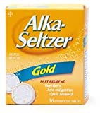 Alka-Seltzer Gold Non-Aspirin Antacid Effervescent, Health Care Stuffs