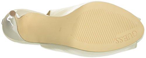 Ivory Heels Back Women's Dress Nude Footwear Sling Ivory Guess Platform yTwB1xFwq