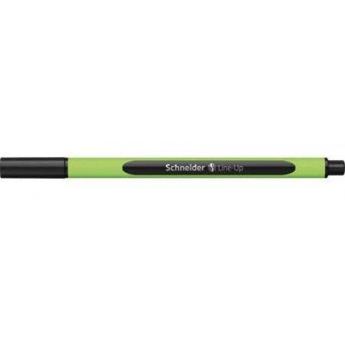 Line-Up Sapphire Black 0.4 mm Disposable Fineliner Pens-Two (Sapphire Line)