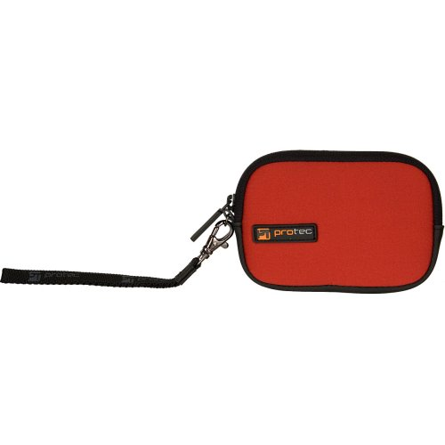 Padded Neoprene Pouch - Protec A751RX Large Padded Neoprene Pouch with Removable Wrist Strap (Red)