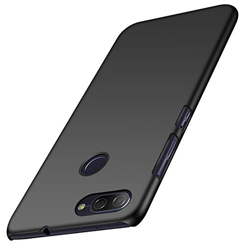 SHIWELY Ultra Thin ASUS Zenfone Max Plus ZB570TL Case, Hard Polycarbonate PC Slim Fit Silky Smooth Phone Cover Case with Matte Finish for ASUS Zenfone Max Plus ZB570TL(Black)