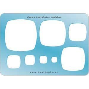 Cool Tools - Jewelry Shape Template - Cushion