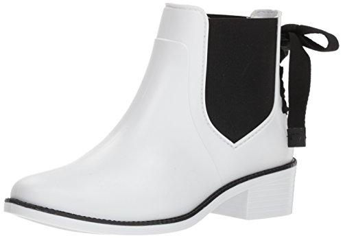Bernardo Women's Paxton Rain Boot, White Rubber, 9M M US