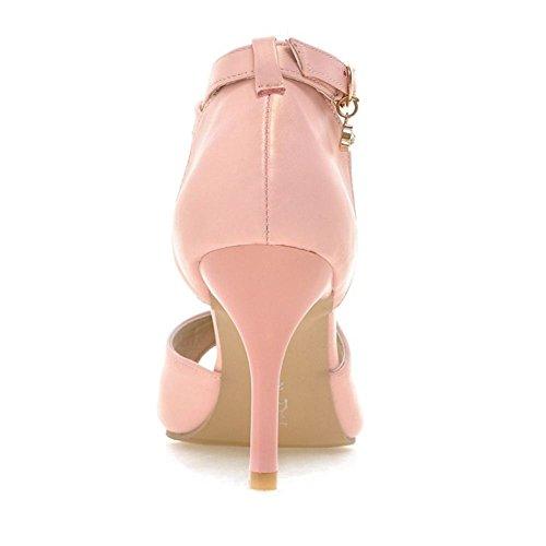Sandales Toe RAZAMAZA Femmes Pink Peep vqxTwtE
