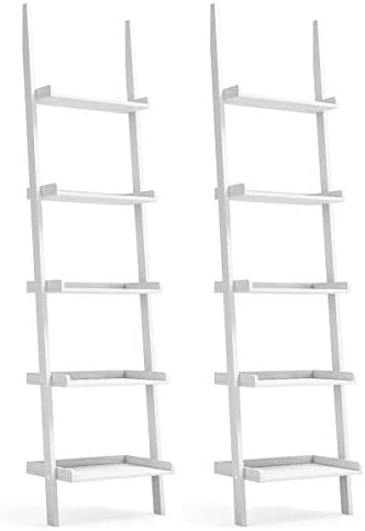 Tangkula Ladder Shelf