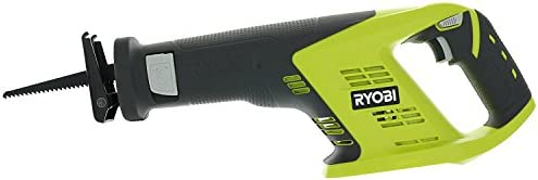 Ryobi P515 One 18V 7 8 Inch Stroke Length 3,100 RPM Lithium Ion Cordless Reciprocating Saw