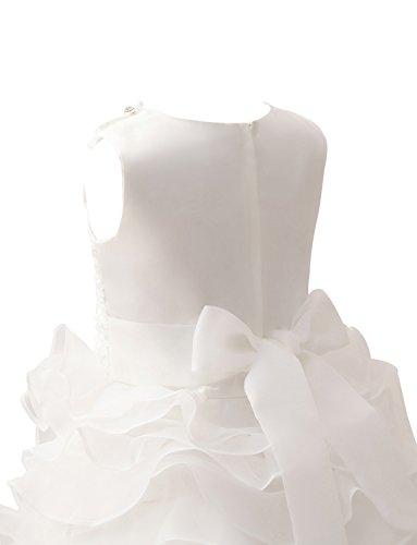 Blumenmädchenkleider Spitzenmieder Geburtstagsfeierkleider Mit Erosebridal Perle Rüschen wSPtBHxnUq