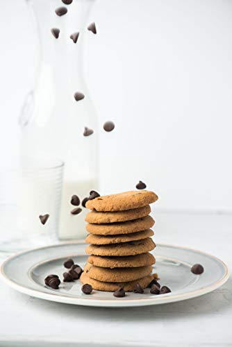 Healthy Keto Snacks Chocolate Chips Cookies by Bett3r Keto | Low Carb High Fat | Ketogenic, Primal, Paleo, Atkins | Almond Flour, Sugar Free, Dairy and Gluten Free, All natural Ingredients| 6 Cookies 6