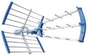 Antena UHF optimizada para Digital Terrestre 16 dB 18 ...