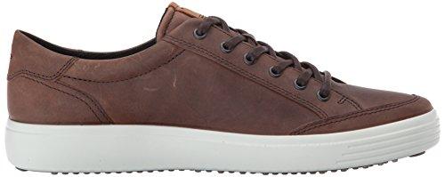 Ecco Heren Zachte 7 Mode Sneaker Cacao Bruin