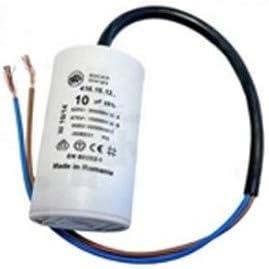 Condensador 10uf 450v con cables chiskoit N-H999XLV97