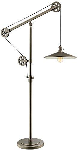 ntique Silver Floor Lamp (Lite Source Metal Adjustable Floor Lamp)