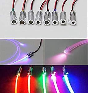 Amazon com: YwewY 1 5W Car LED Illuminator Fiber Optic Side