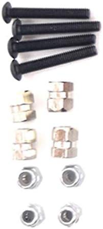 Domilay 1//10 T/éL/éCommande Truck Aluminium 100MM Ensemble DAmortisseurs de Suspension pour SCX10 II AXIAL TF2-4 D110,4 Pi/èCes S/éRies