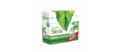 Simply Stevia Packets Natural 1g 40 Per Box Stevia International 40 Packet