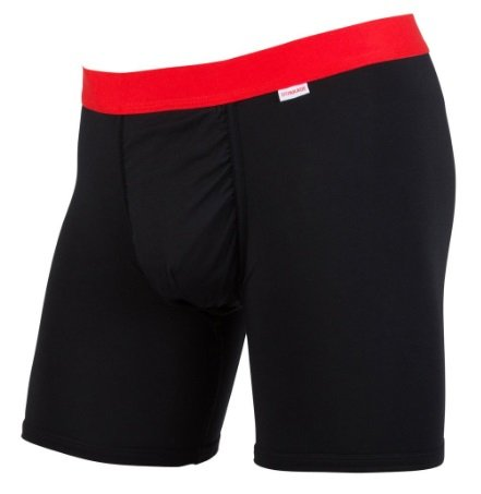 MyPakage Weekday Boxer Brief - Black Red - Small (30-32))