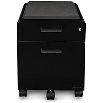 Amazon Com 2 Drawer File Cabinet With Seat Rolling By