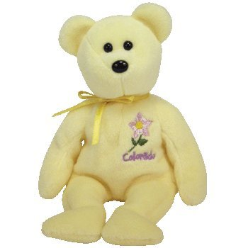 Image Unavailable. Image not available for. Color  TY Beanie Baby - COLORADO  COLUMBINE the Bear (Show Exclusive) 8b6b424f5095