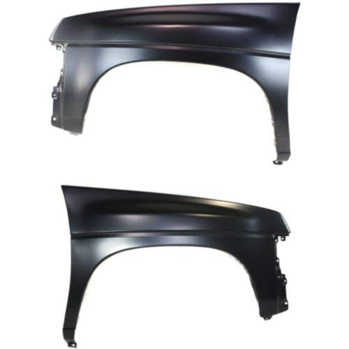 Fender Compatible with NISSAN D21 1989-1994 / Nissan Pickup 1995-1997 Right Side and Left Side 4WD
