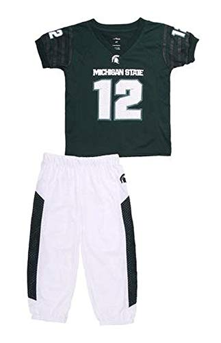 Michigan State Spartans Dream Team Pajama Set (3) White -
