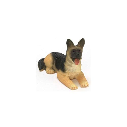 Dollhouse Miniature 1/2in Scale German Shepherd, used for sale  Delivered anywhere in USA