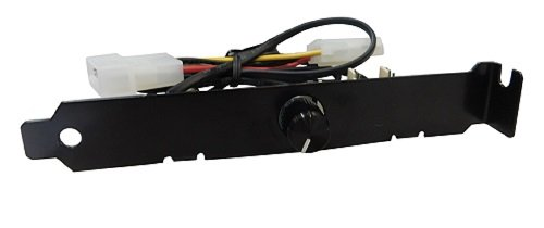 Lian Li PCI Fan Speed Controller Model: PT-FN03 (Black)