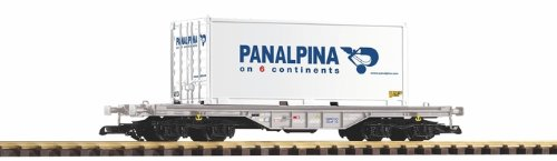 piko-g-scale-model-trains-sbb-vi-flat-car-with-panalpina-container-37721