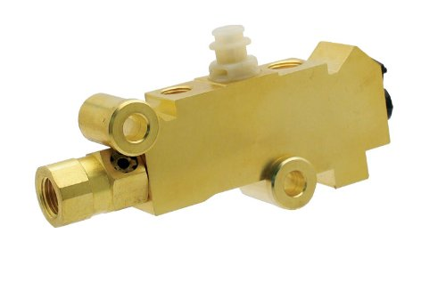 Proheader PB216 - Proportioning Valve, Brass Finish for Disc/Drum Brakes