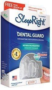 SleepRight Dura Comfort Dental Guard with Free Nasal Breathe Aid 1 ea by SleepRight