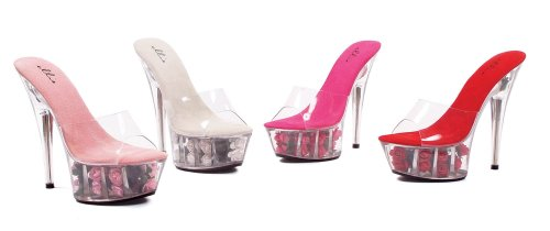 Fuchsia Sandals Shoes ROSES Women's 609 Ellie ISXxwp8w