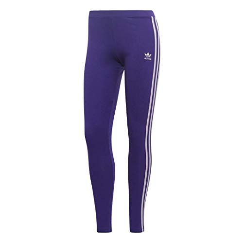 adidas Originals Women's 3 Stripes Legging, collegiate purple, Medium